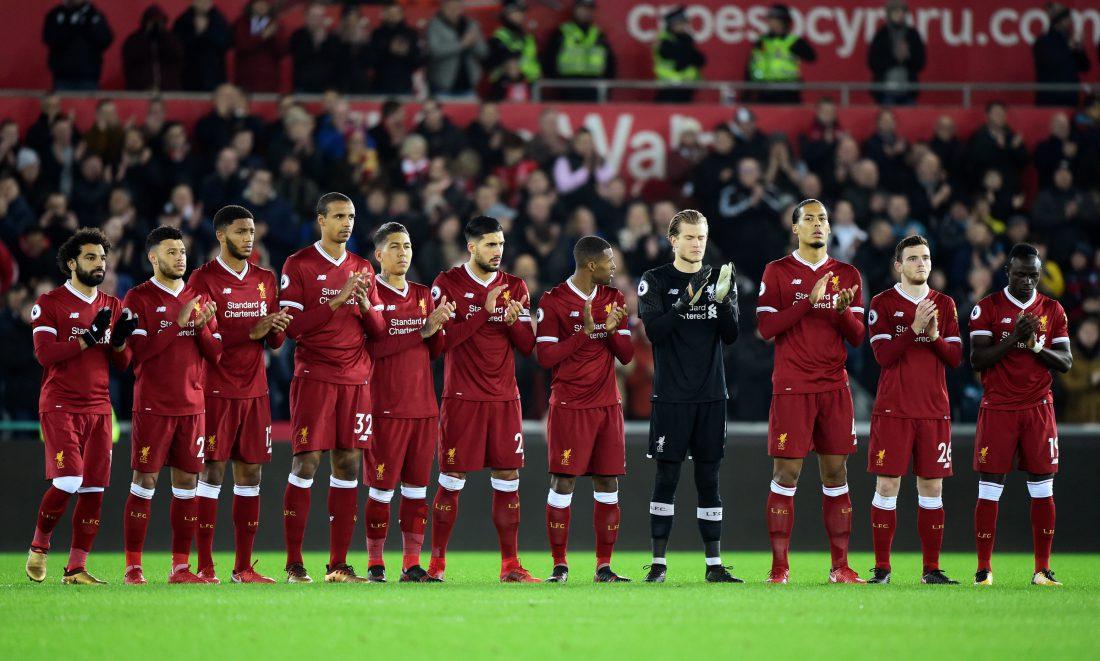 wyjściowa jedenastka Liverpool FC
